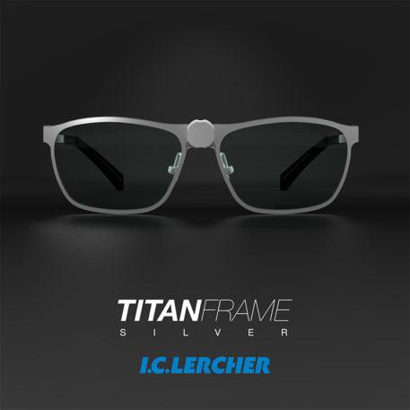Lupbriller TITANIUM stel sølv